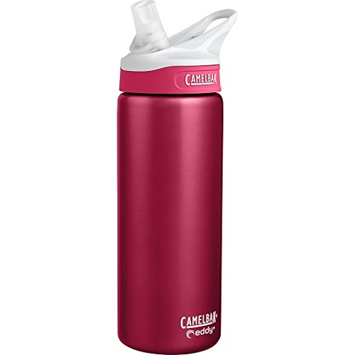 (CamelBak eddy Vacuum Insulated Stainless, 20 oz, Dragonfruit)