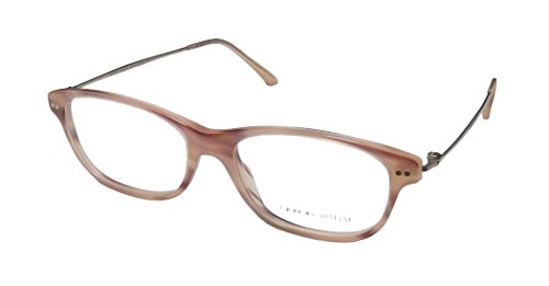 Giorgio Armani OAR7007 Striped Pink 5021 Eyeglasses - Frames Prescription Armani