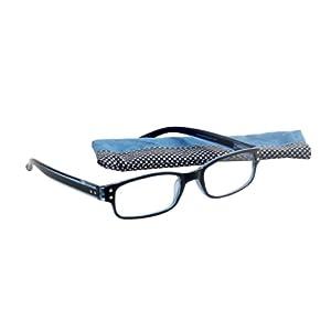Select-A-Vision Victoria Klein Fashion Readers Retro-Check, Blue, +3.00