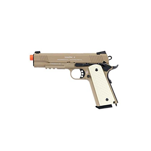 KWA 1911 MK II PTP 6mm 21rd Dark Earth Airsoft Pistol for sale  Delivered anywhere in USA