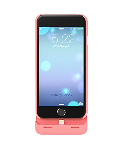 Boostcase Hybrid Power Case 2700mAh für Apple iPhone 6, coral
