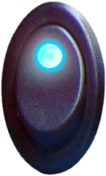Keep It Clean 129511 Silver 20 Amp//12V Rocker Switch with Blue Illumination