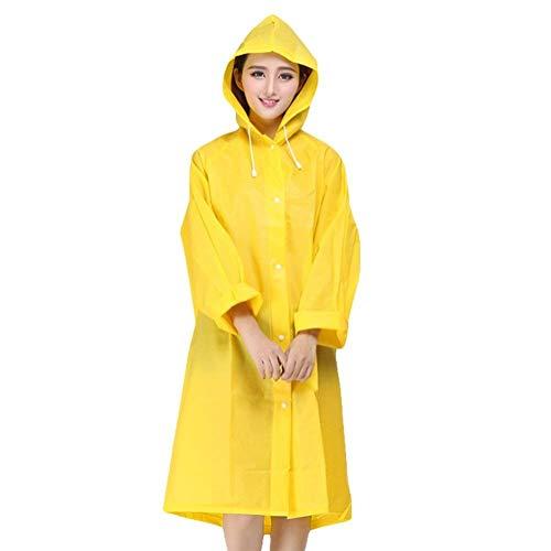 con con Fashion Impermeabile Cappuccio Raincoat Classiche Solid Giacca Gelb Impermeabile Impermeabile Impermeabile Jacket Impermeabile Giacca Colors Donne Impermeabile Rain Lady 7UqSRYT
