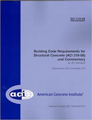 Building code requirements for structural concrete and commentary building code requirements for structural concrete and commentary f first edition edition fandeluxe Choice Image
