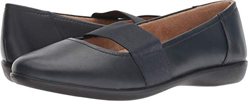 Naturalizer Women's Fia Navy Leather 10 M US