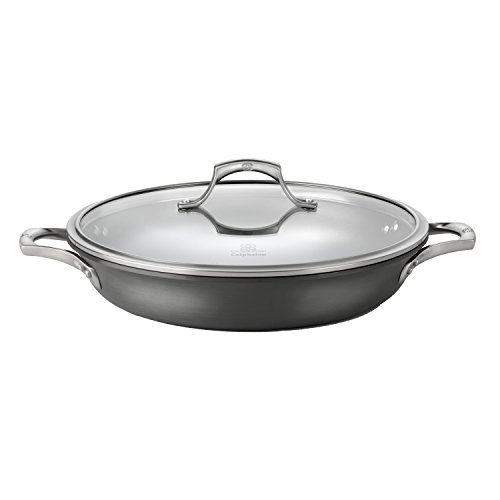 Calphalon Unison Nonstick, Everyday Pan, Gray, 12-inch