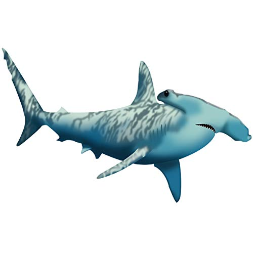 (VWAQ Hammerhead Shark Wall Decals | Vinyl Ocean Animals Stickers - NA02 (14