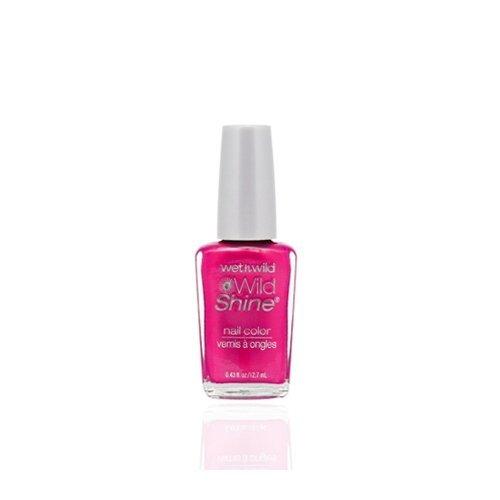 Wild Wild Lipstick Shine ((3 Pack) WET N WILD Wild Shine Nail Color - Lavender Creme)