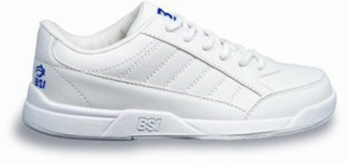 BSI Boy's Basic #532 Bowling Shoes, White, Size 4.0