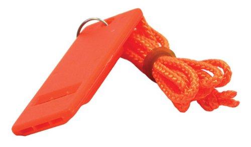 Shoreline Marine Whistle Safety Flat (Orange) SL52285 052285~M