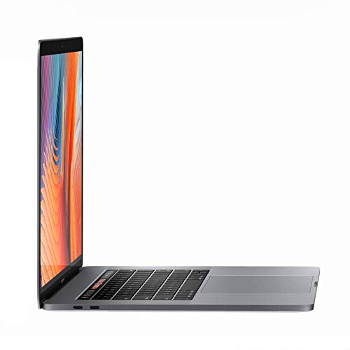 """Apple MacBook Pro 15"""" Retina Core i7 2.6GHz MLH32LL/A with Touch Bar, 16GB Memory, 256GB Solid State Drive (Renewed)"""