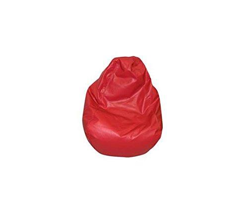 Children's Factory Tear Drop Bean Bag - Red Classroom Furniture ()