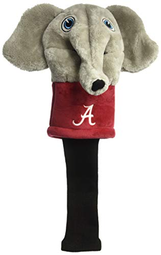 Team Golf NCAA Alabama Crimson Tide Mascot Golf Club Headcover, Fits Most Oversized Drivers, Extra Long Sock for Shaft Protection, Officially Licensed Product