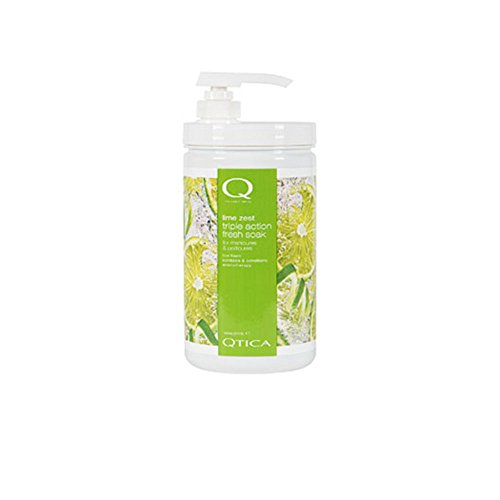 QTICA Smart Spa Lime Zest Triple-Action Fresh Soak - 35oz (Antibacterial Zest Lime)