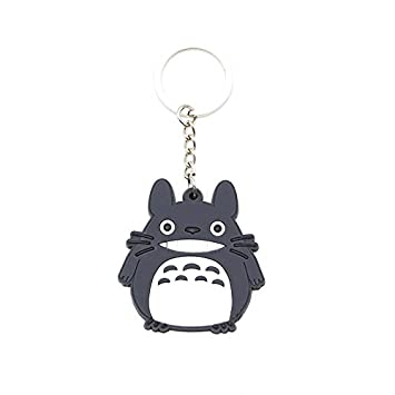 Amazon.com  CellDesigns Japanese Anime Totoro PVC Keychain (D-Smiling  Totoro)  Automotive 7086bb6f01d9