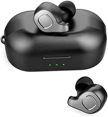 G&A True Wireless Earbuds | Bluetooth 5.0 with Wireless Charging case| Ultra Light Weight| Sweat Proof