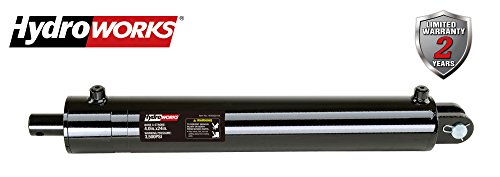 HYDROWORKS Double Acting Tie Rod Hydraulic Cylinder, 2500 PSI (4