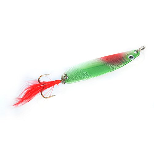 Piscifun 30pcs assorted spinner lures metal fishing lures for Amazon fishing spinners