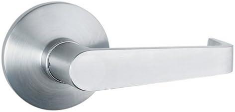 Global Door Controls Aluminum Passage Lever Exit Device Trim