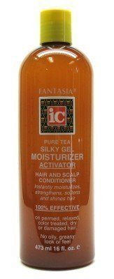 Fantasia IC Gel Tea Silky 16 oz. Moisturizer Activator (Pack of 8)