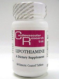 Ecological Formulas Lipothiamine 60 Tabs