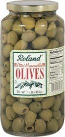 (Pitted Manzanilla Olives By Roland)