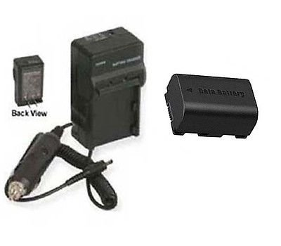 BN-VG114 BN-VG114E BN-VG114U BN-VG114US Battery + Charger for JVC GZ-E200, JVC GZHM30