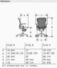 Amazon.com: Aeron Chair by Herman Miller - Basic Home Office Desk ...