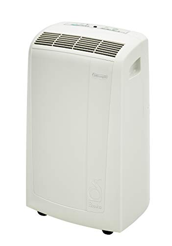 Best DeLonghi Pinguino 3-in-1 Portable Air Conditioner, Dehumidifier  Fan with Remote Control  Wheels, 400 sq. ft, Medium Room, White