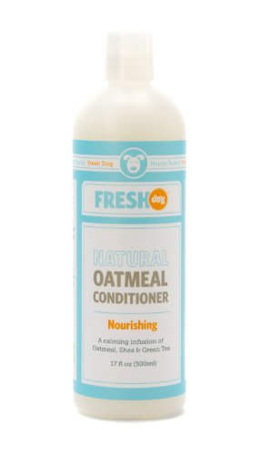 Fresh Dog Natural Oatmeal Conditioner for Dry and Itchy Skin, 17-Ounce, My Pet Supplies