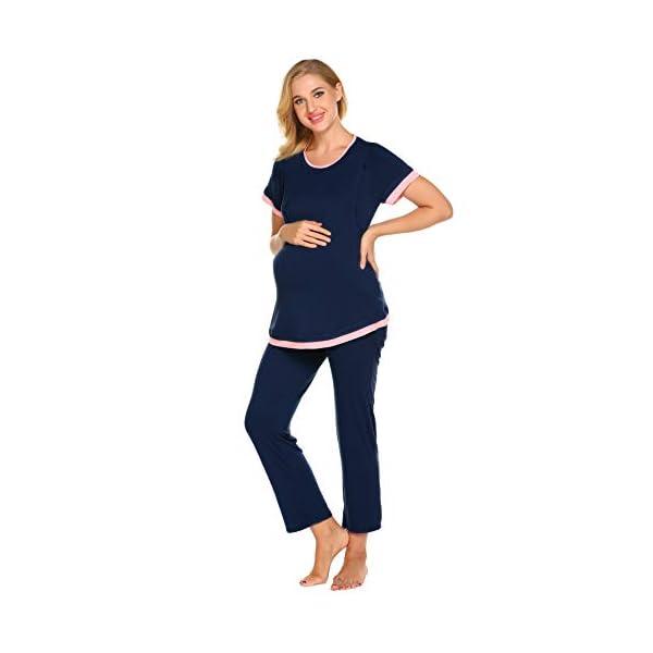 Best Maternity Nursing Sleepwear Pajama Set Online India