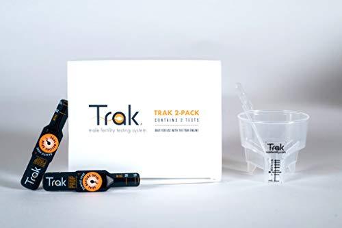 Trak At Home Male Fertility Sperm Test Refill Kit with 2 Tests (HSA/FSA ()