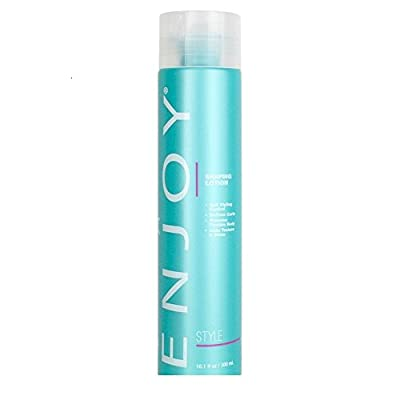 ENJOY Shaping Lotion (10.1 OZ) – Softness, Texture and Shine Enhancing Hair Shaping Lotion