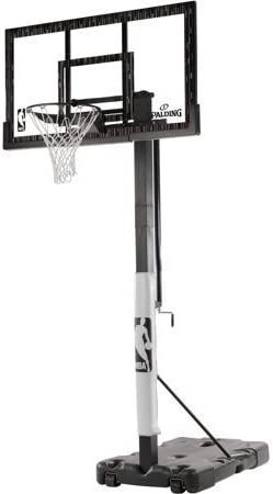 spalding nba 60 inches acrylic portable hoop