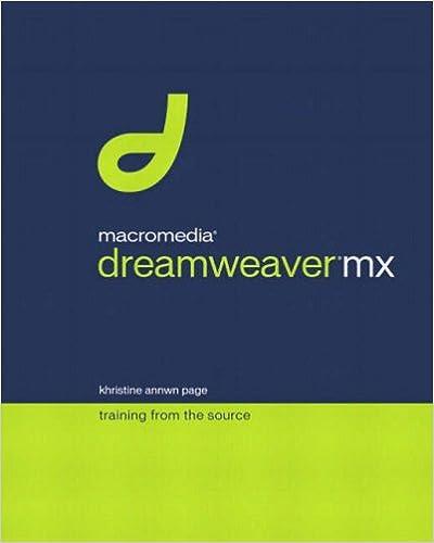 Macromedia Dreamweaver MX: Training from the Source