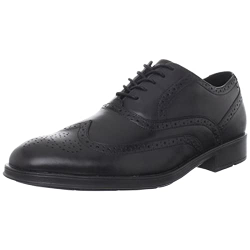 Rockport Men's Almartin Wingtip Tip Bal Oxford,Black,10 M