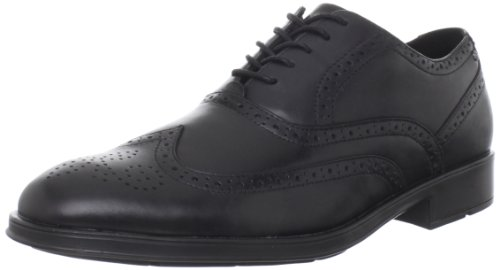 Rockport Men's Almartin Wingtip Tip Bal Oxford-Black-6.5 W