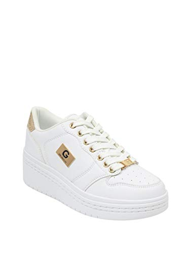 (G by GUESS Women's Rigster Logo Platform Sneakers)