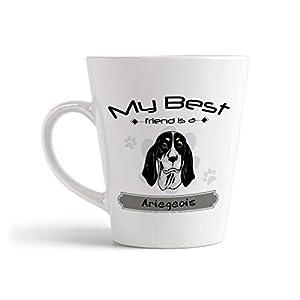 Ceramic Custom Latte Coffee Mug Cup My Best Friend Is Ariegeois Dog Tea Cup 12 Oz Design Only 18