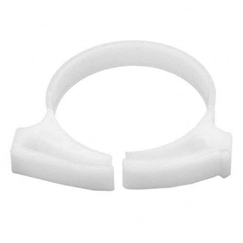 1.326//1.542 Min//Max Diameter POM 50//pkg White HellermannTyton SNP3410K2 Snapper Hose Clamps