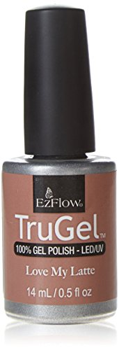 EZ Flow 3rd Launch Gel Polish, Love My Latte, 0.5 Fluid - Gel Ezflow