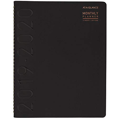 - AT-A-GLANCE 70957X0520 2019-2020 Academic Year Weekly & Monthly Planner/Appointment Book, Large, 8-1/4