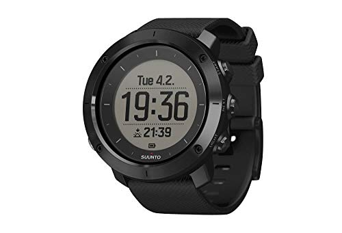 SUUNTO Traverse Watch – Sapphire Black, one Size