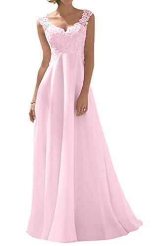Novia Trapecio Topkleider Rosa Vestido Mujer de 8gxwqpxEf