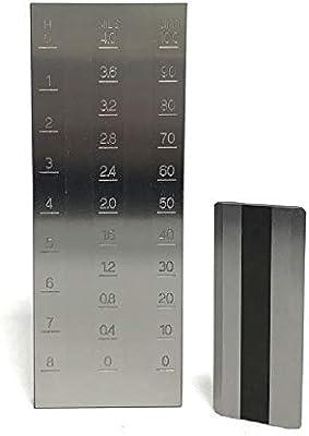 Amazon.com: MXBAOHENG Grindometer - Calibre de acero ...