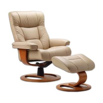 Amazon Com Fjords Manjana Small Leather Recliner Dr Frame
