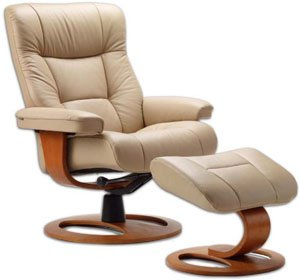 Fjords manjana large leather recliner dr frame norwegian ergonomic scandinavian Swedish home furniture amazon