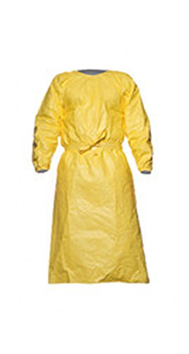 Lot de 25 Tychem C Combinaison d13984692/mod/èle PL50/shin-length Peignoir jaune S//M