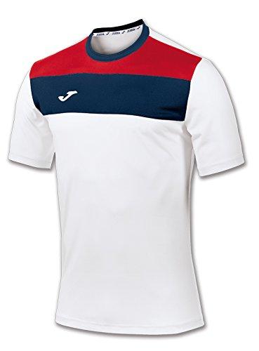 Jomaメンズクルー半袖フットボールTシャツ B00ZRF29RAWhite / Red / Navy XX-Large 3X-Large