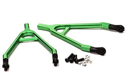 Integy RC Model Hop-ups C24651GREEN Billet Machined Alloy Upper Y-Arm for Axial SCX-10, Dingo & Honcho
